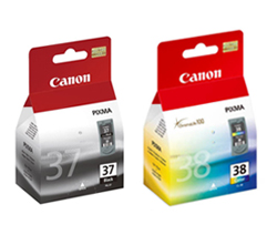 Komplet Canon PG-37 + CL-38 11ml + 9ml oryginalny